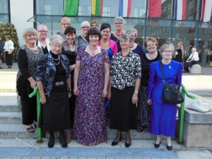 D16 attendees at Turin Convention where Lynn McKenzie was inducted ad Zonta International President
