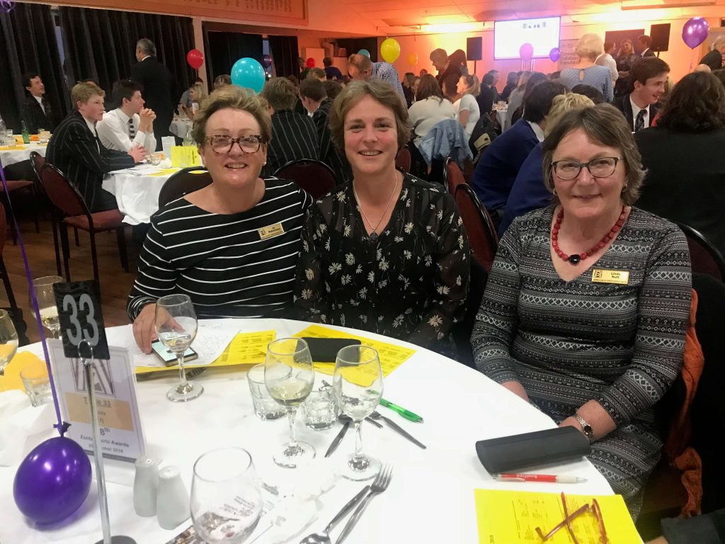 Zonta Club of Christchurch South - Sports Awards 2018