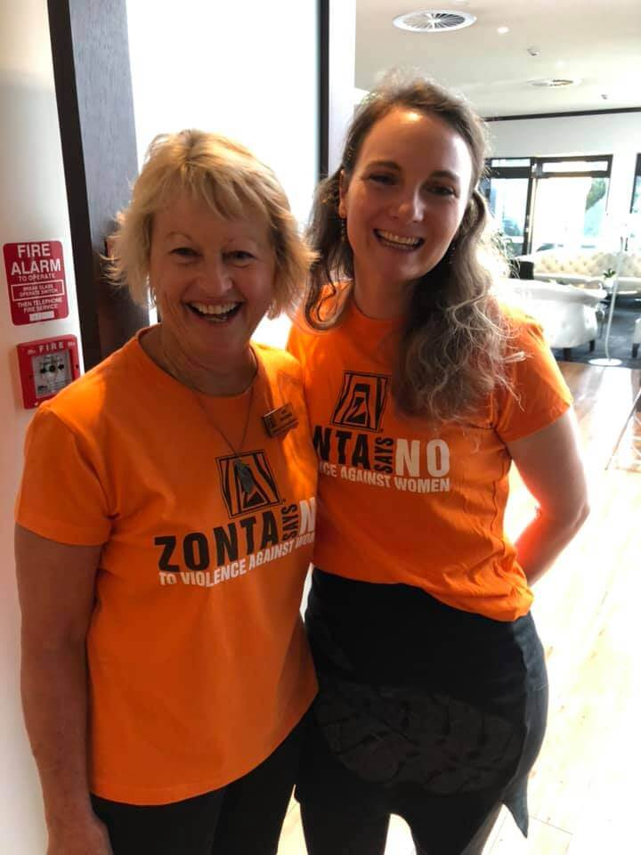 Zonta Club of Christchurch South Zonta Says No!